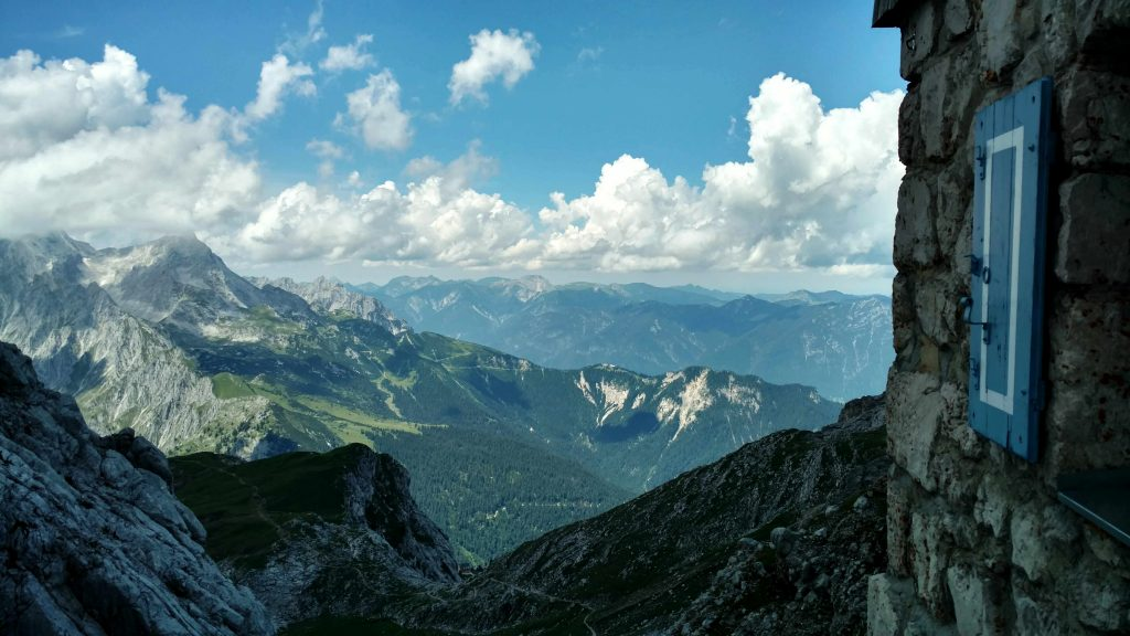 View from the Meilerhütte | Hiking the Via Alpina in Austria