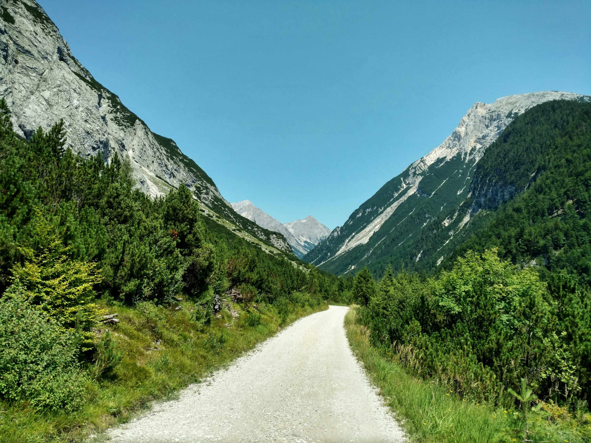 Karwendeltal   Via Alpina Oostenrijk