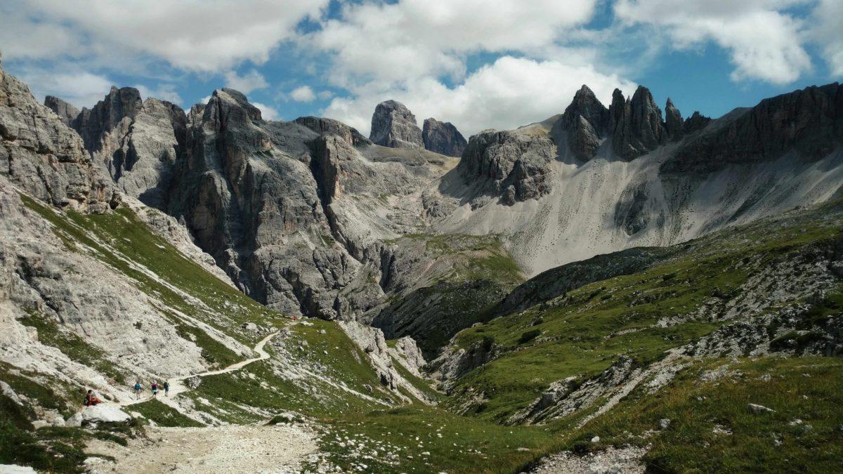 De Alta Via Dolomiti #3 naar beneden