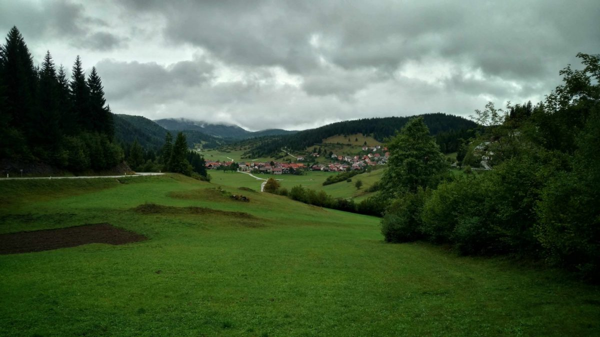 Sloveens dorpje ergens in de Kočevje regio