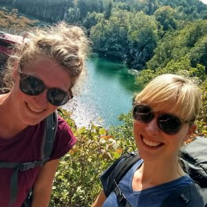 Sunny selfie series, Plitvice lakes