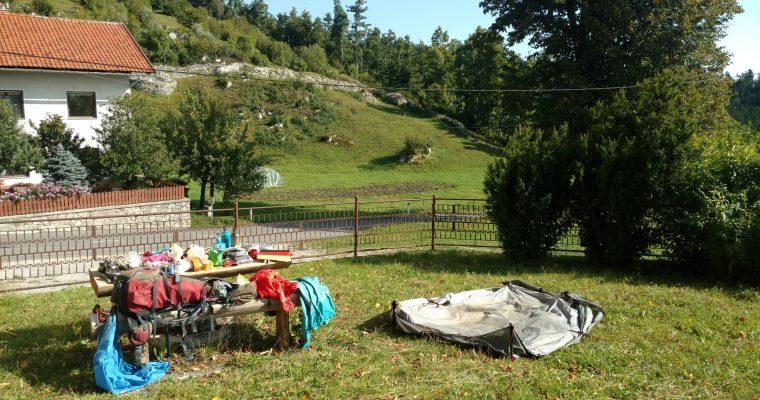 BLOG | Slaapplaatsen kwartet op het laatste stukje Via Alpina