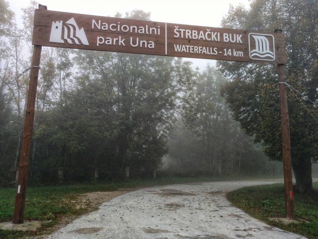 Nacionalni park Una | Štrbački Buk ingang naar de watervallen