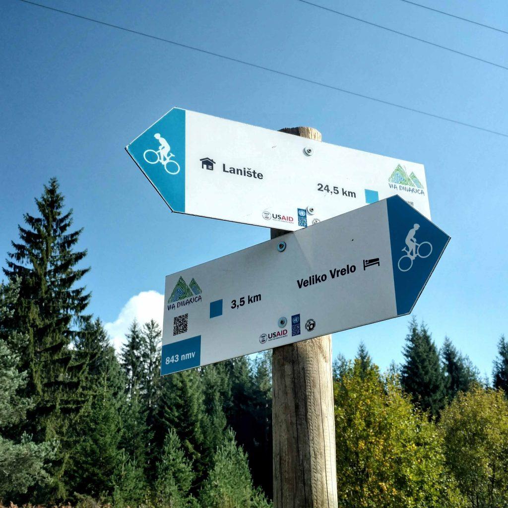 Via Dinarica mountainbike trail