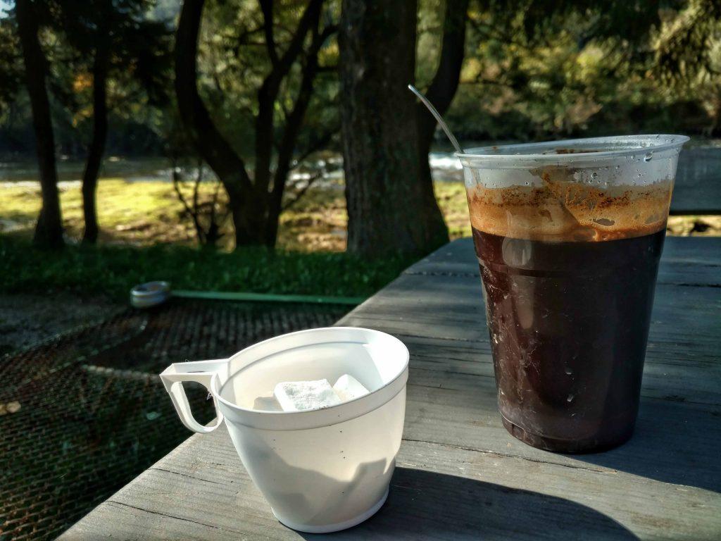 Koffie aan de Sana