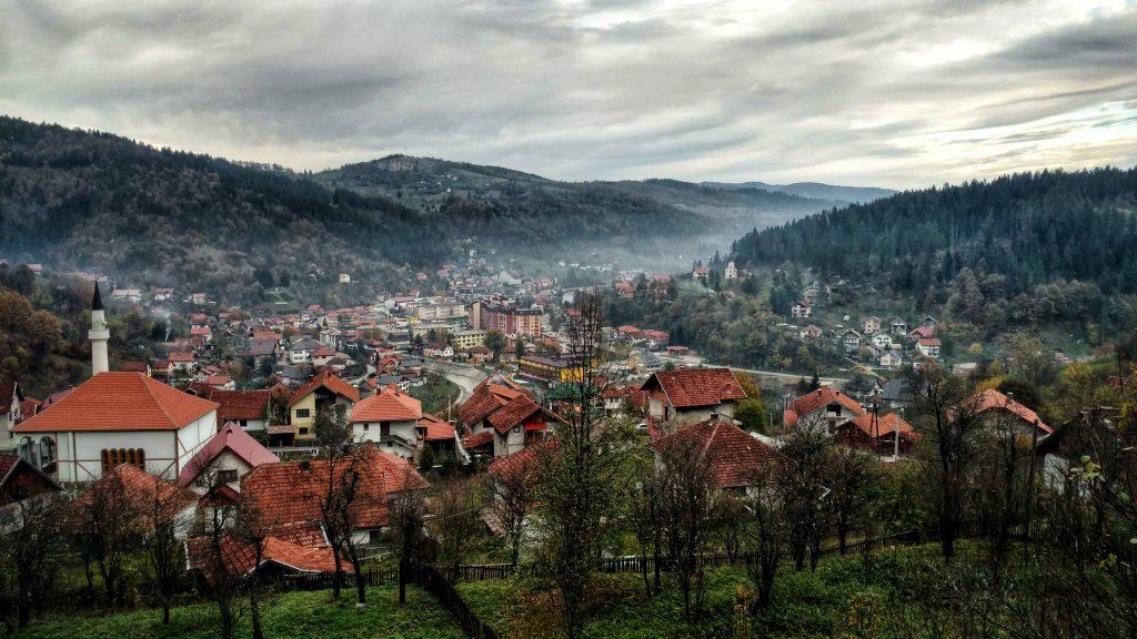 Olovo, stad in Bosnië en Herzegovina