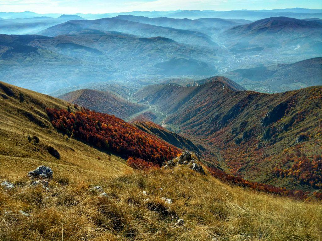 Vlašić met uitzicht op Travnik