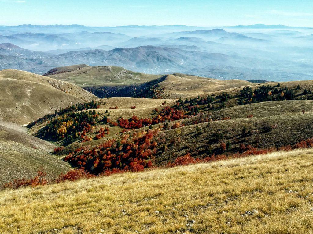 Vlašić uitzicht richting Zenica