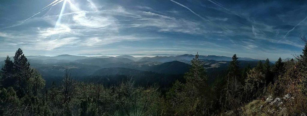 Uitzichtje vanaf Krš Vrh Zvijezda