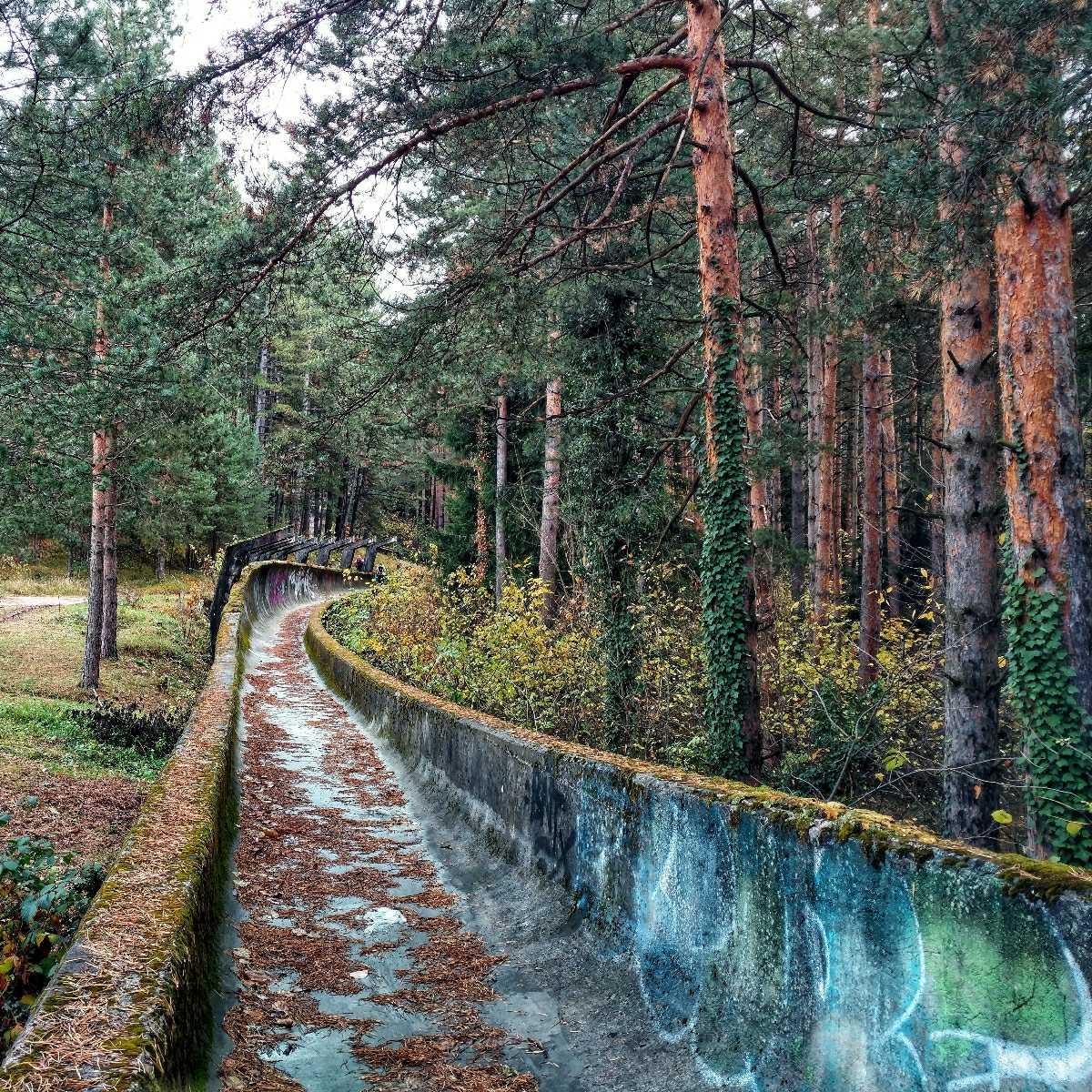 Looking back on November: Hiking Trebević Abandoned Bosbsled Track