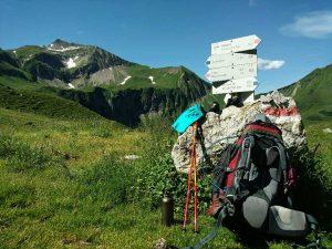 Wandelen in de bergen met Deuter, SIGG en Leki