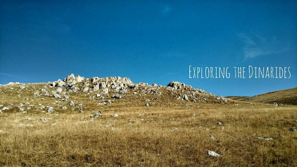 Exploring the Dinarides project banner