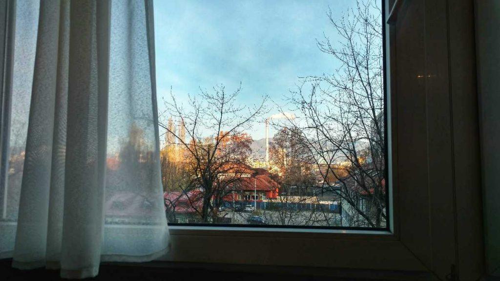 Bloggen vanuit Zagreb met uitzicht op Medvednica