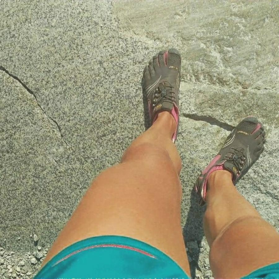 New Blog (in Dutch) about hiking on Vibram FiveFingers