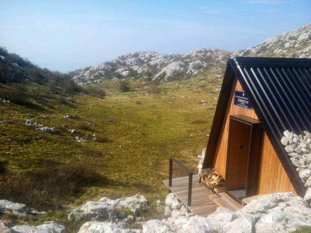 Ždrilo, Velebit | Een onbemande hut voor mij alleen