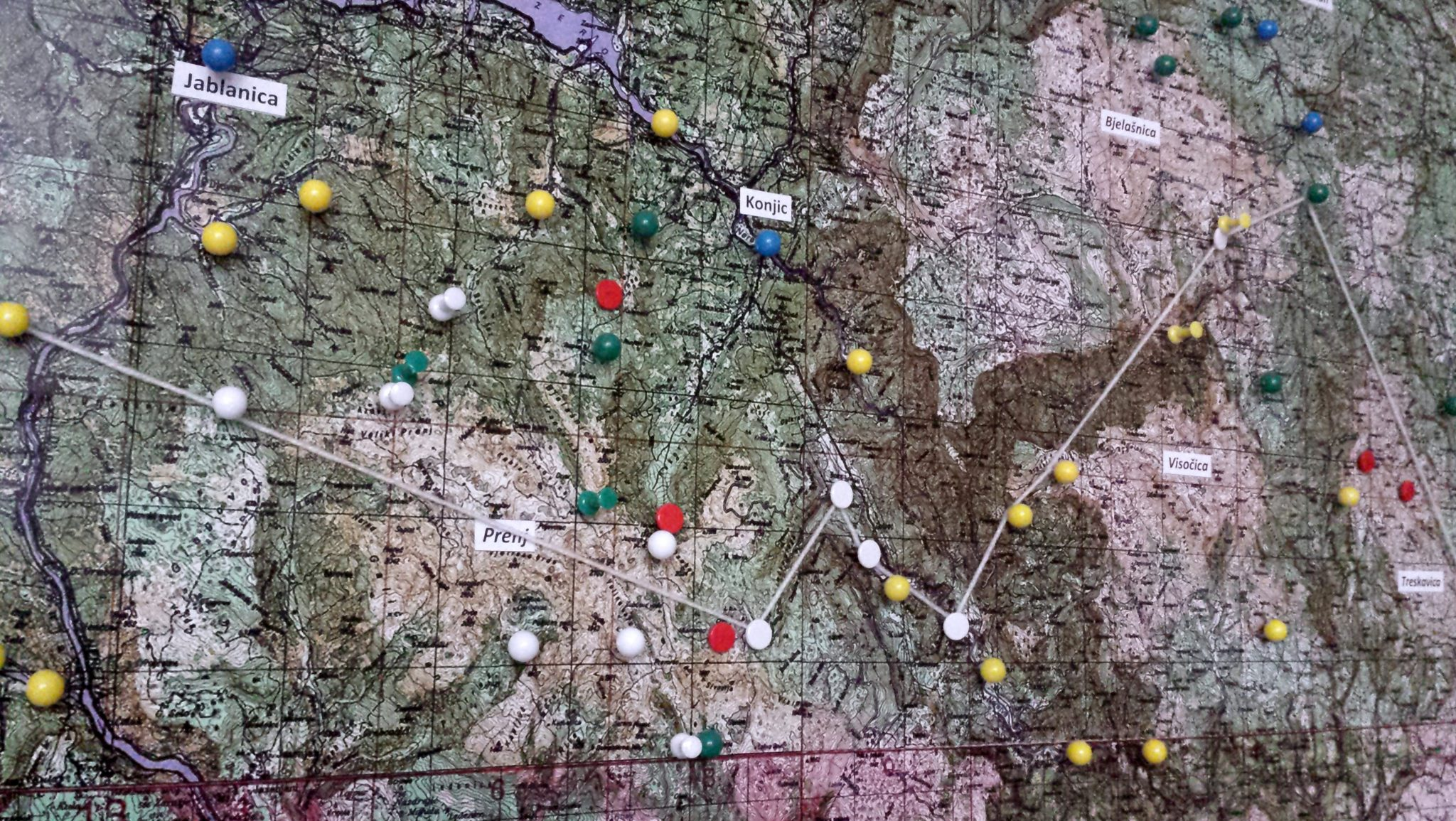 Via Dinarica Practical Information   Pushpin Trail in Via Dinarica Office