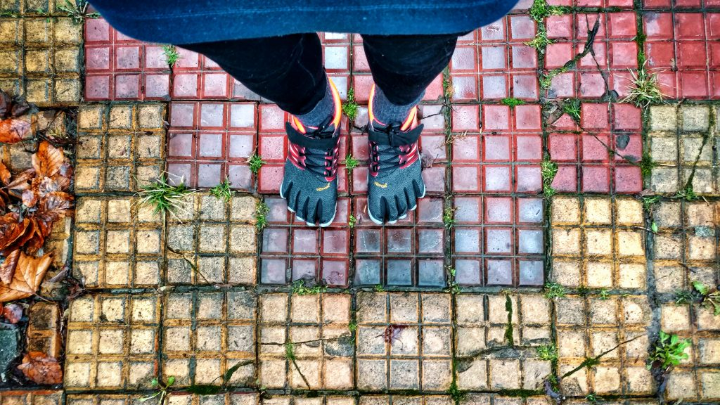 BLOG | Van blootsvoets rennen naar natuurlijk lopen op FiveFingers