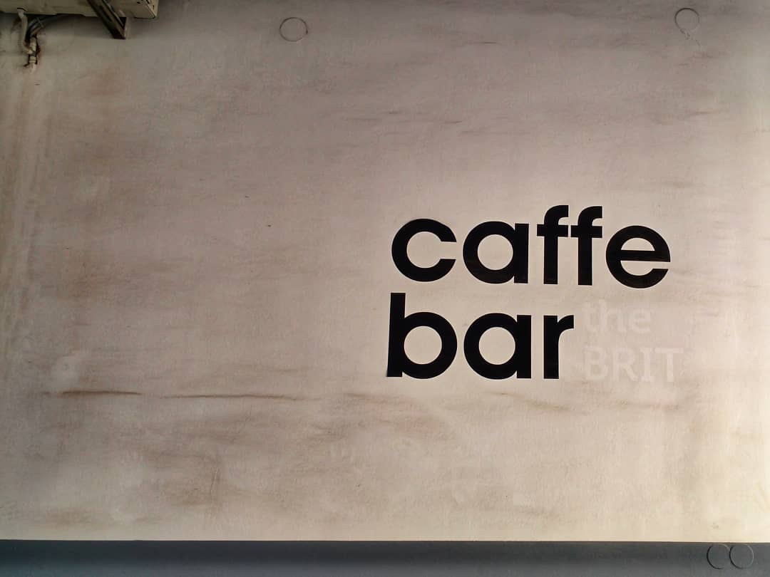 What you don't see | THE BRIT caffe bar