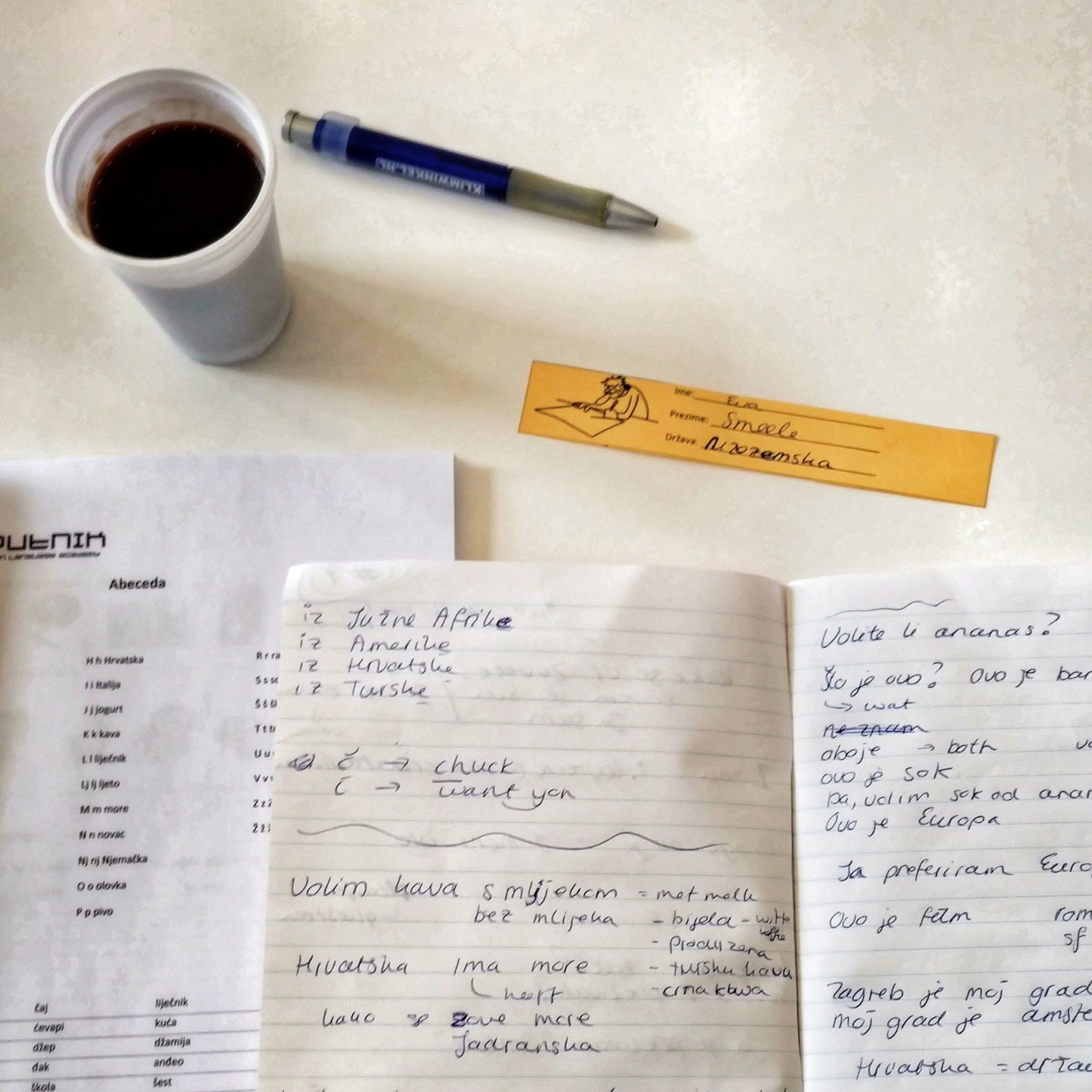 Croatian Language Course Sputnik | Zagreb