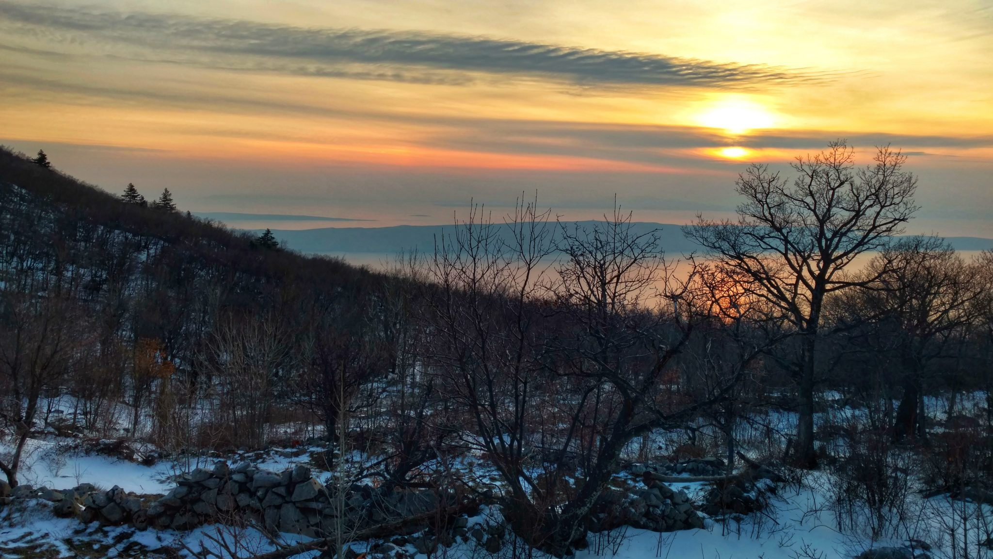 Velebit Winter Hike Day 1 | Bivouac