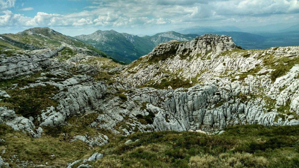 Karst gebergte | Dinarische Alpen | Put Oluje