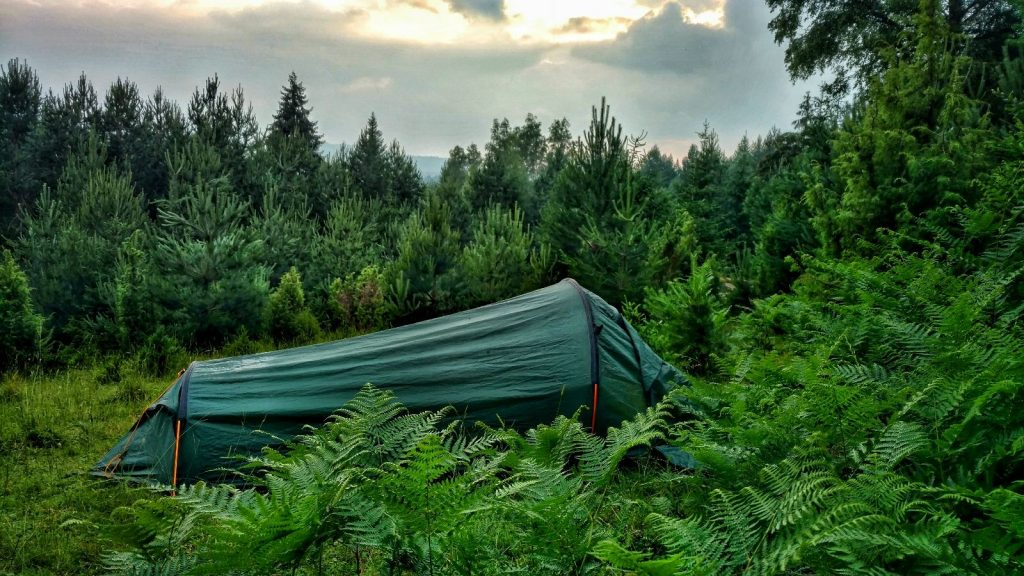 Camping on the Jahorina Trailrun Track