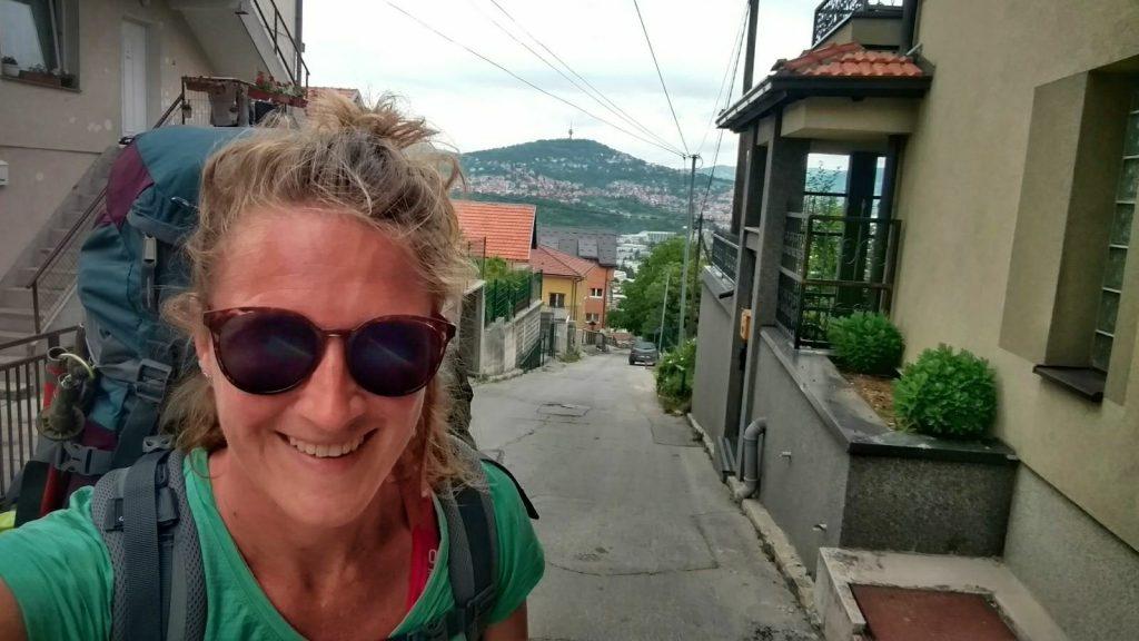 Frisse start in de steile straatjes van Sarajevo