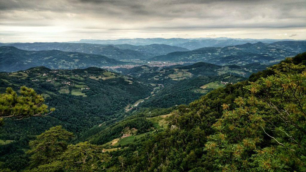 Crnjeskove viewpoint | hike from Višegrad to Tara National Park