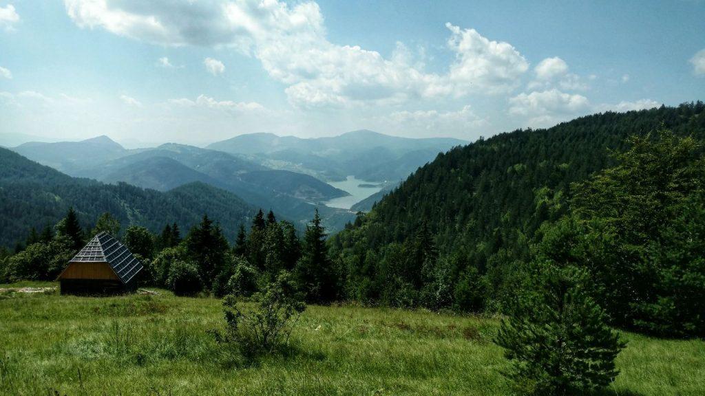 Zaovine jezero Serbia