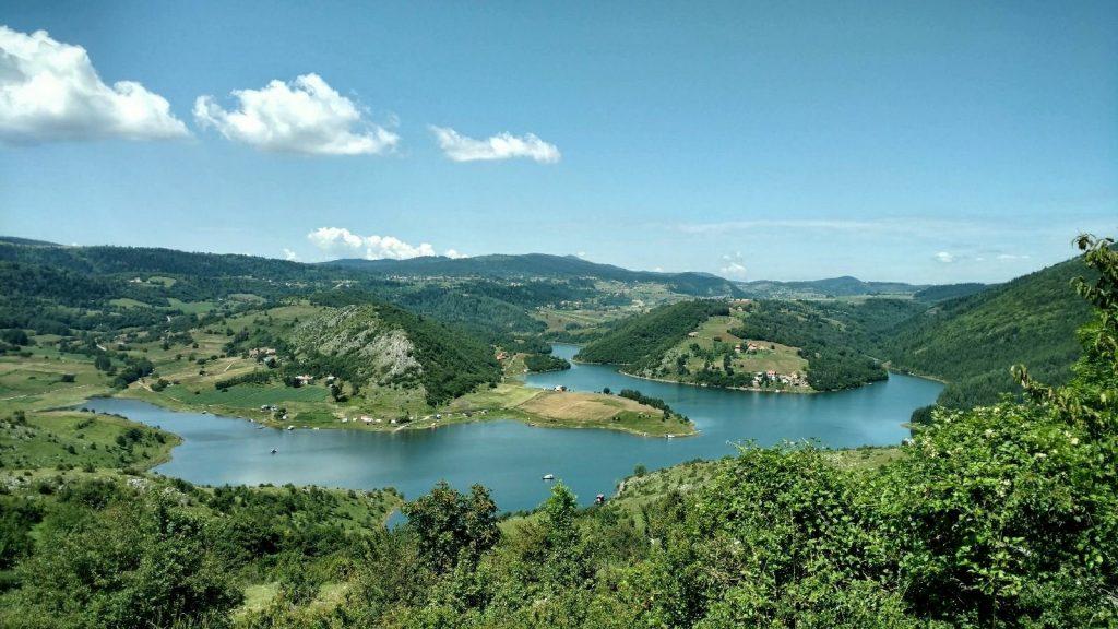 Uitzicht over de Uvac | Via Dinarica Green Trail Servië