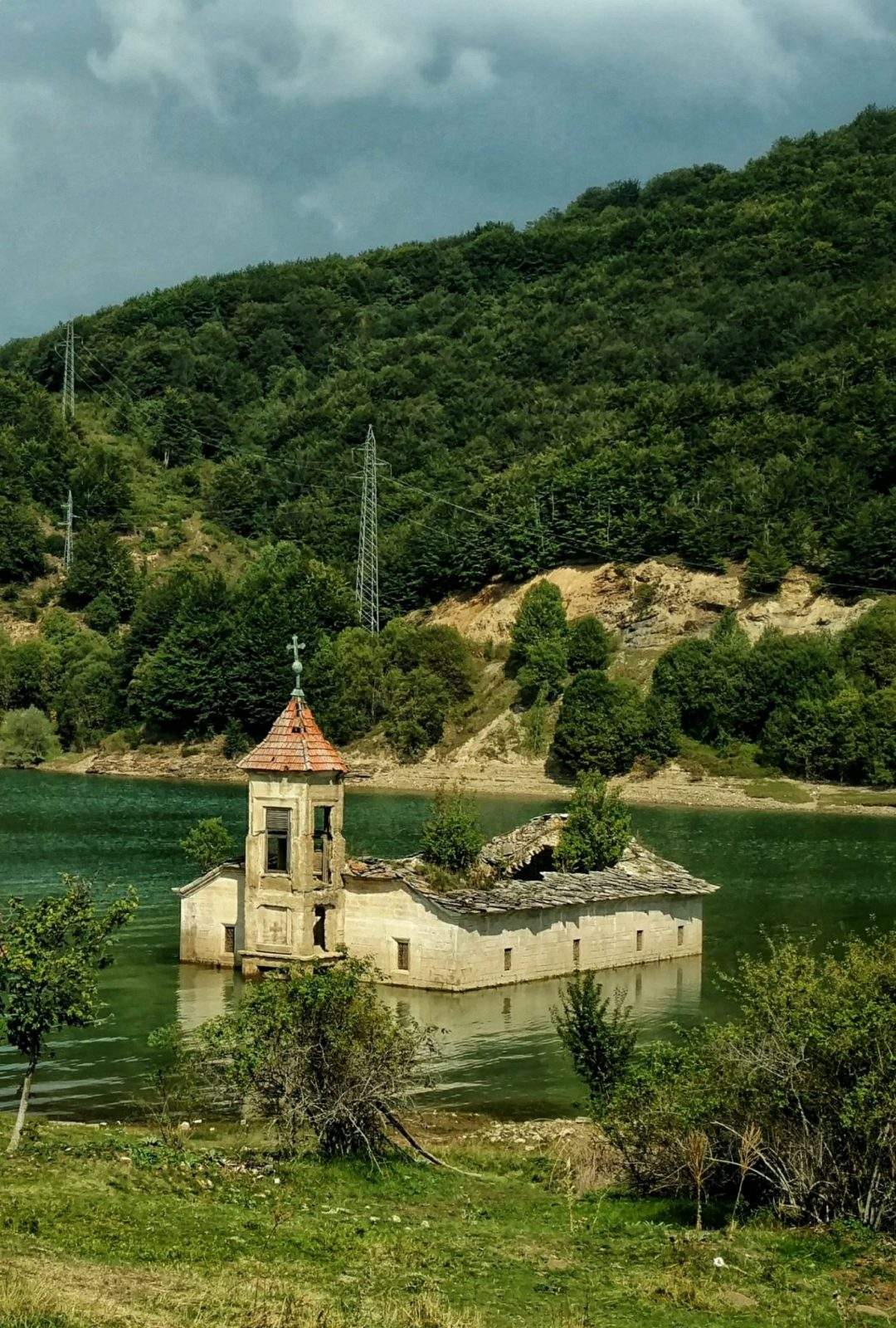 Old sunken church, Mavrovo