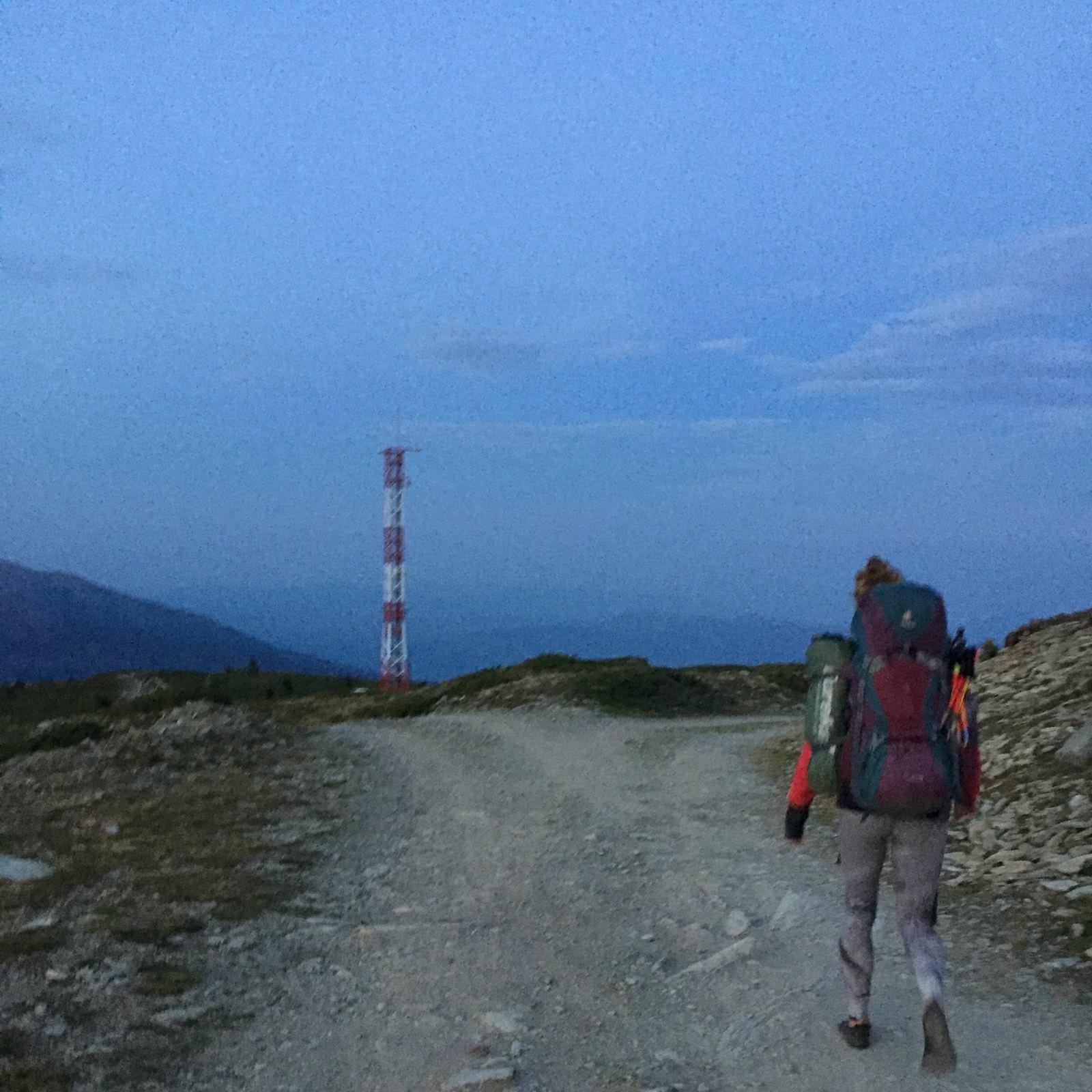 Hiking to Popova Shapka