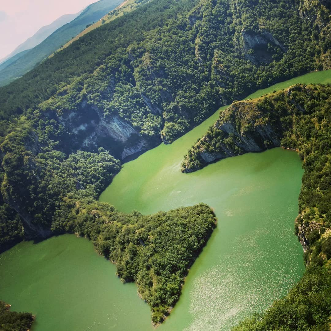 Meanders of the Uvac, Serbia
