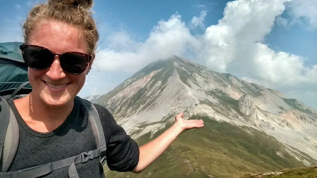 Ljuboten, berg op de grens van Kosovo en Noord Macedonië