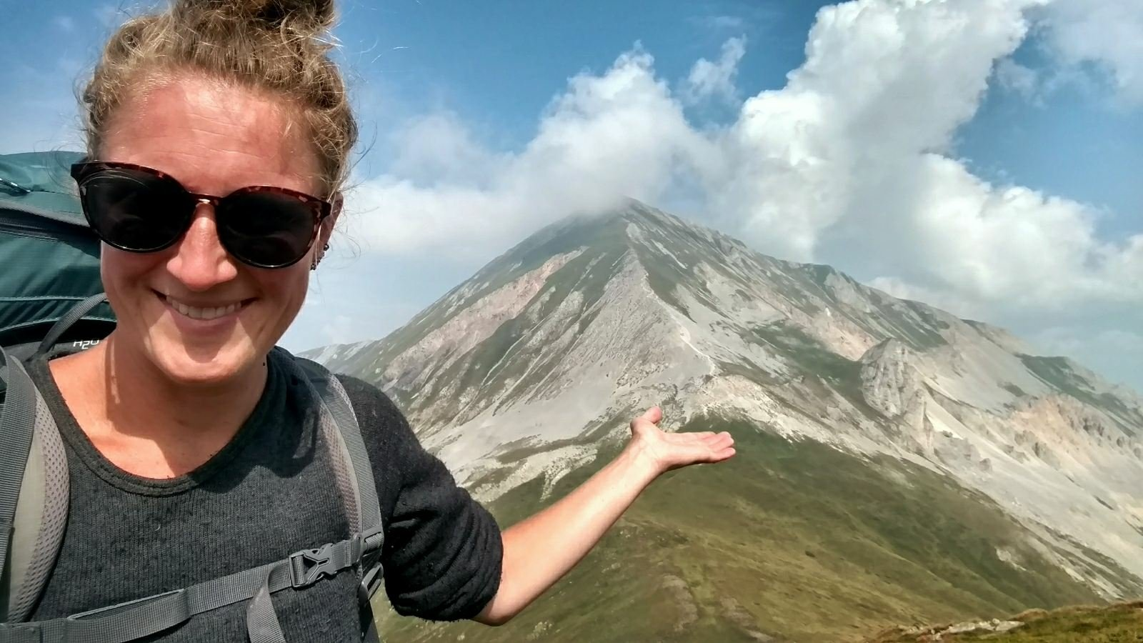Ljuboten mountain on the Macedonian Traverse
