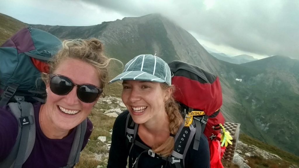 With Rosa in the Macedonian mountains | Sharr Mountain