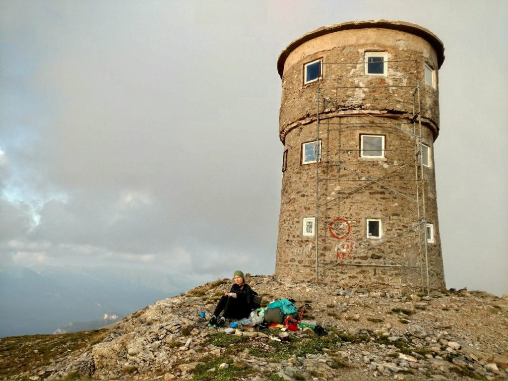 Tower on Titov vrv | Sharr Mountain, North Macedonia