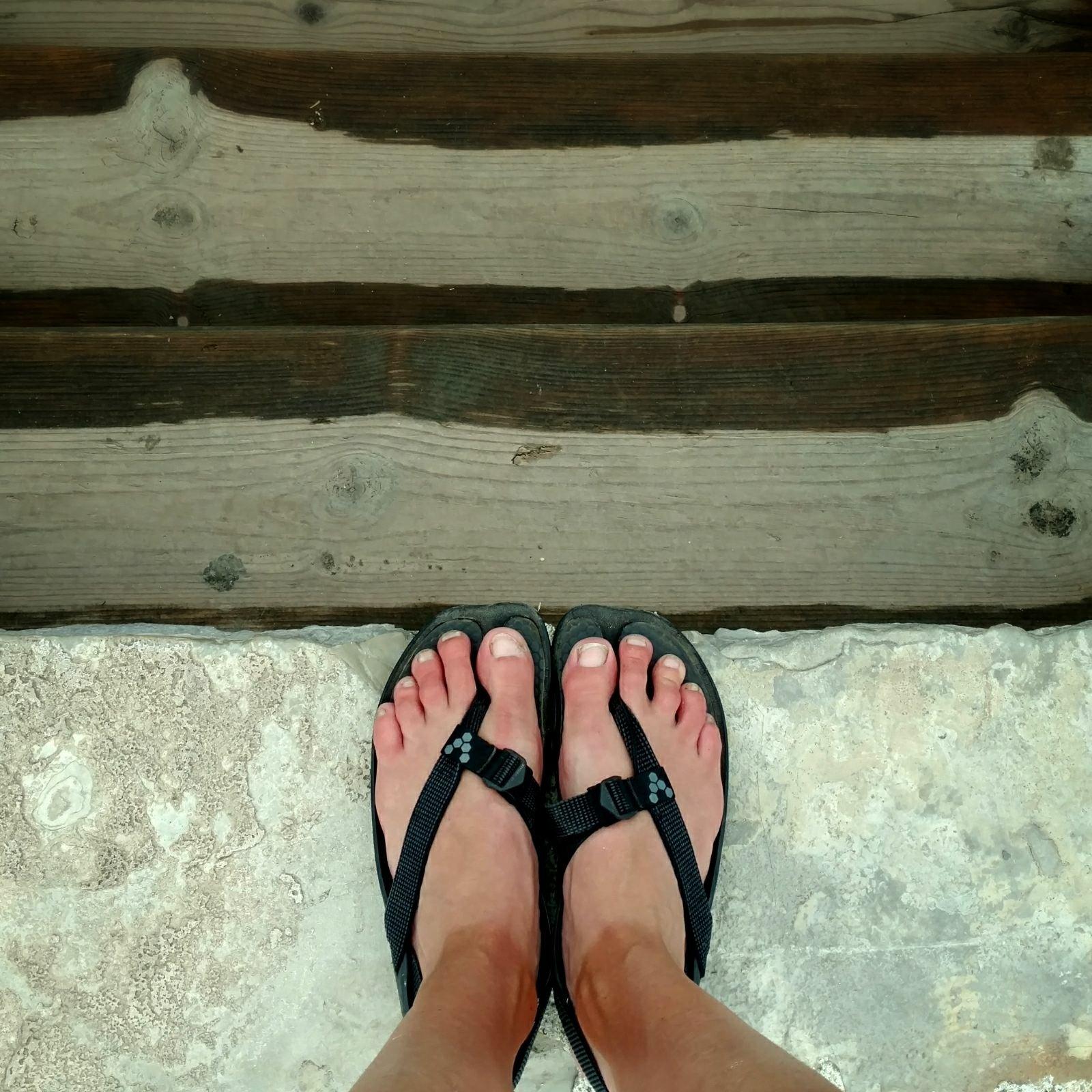 Feet in Prizren