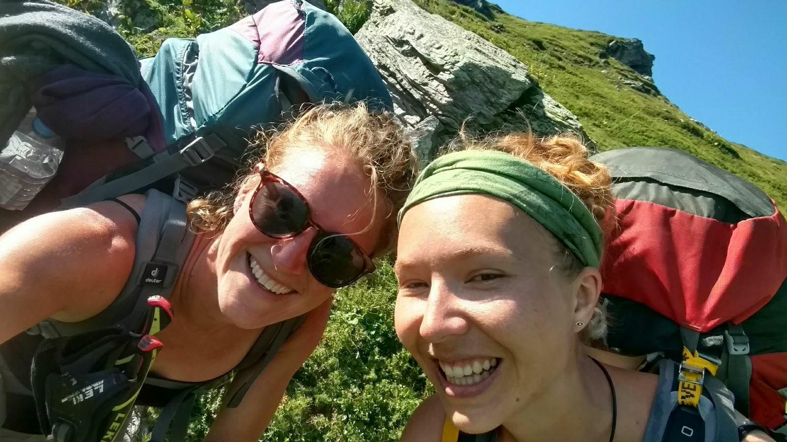 Exploring Shar Mountain with Rosa