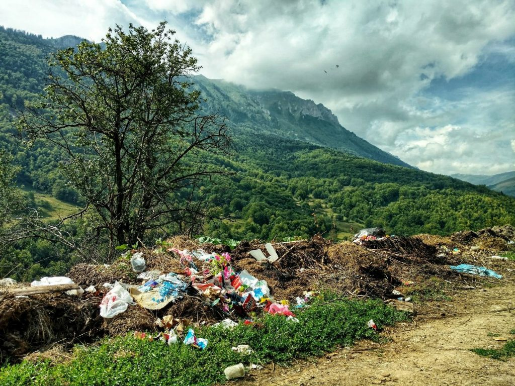 Where's villages there's trash | Sharr Mountain