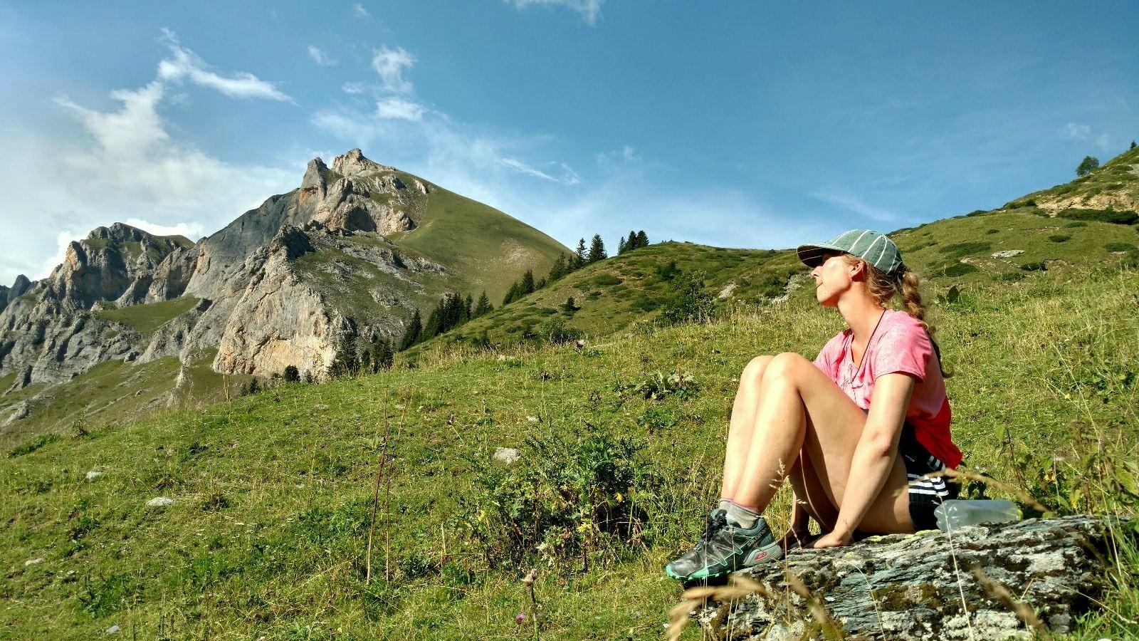 Lower Leshnica and Plat peak