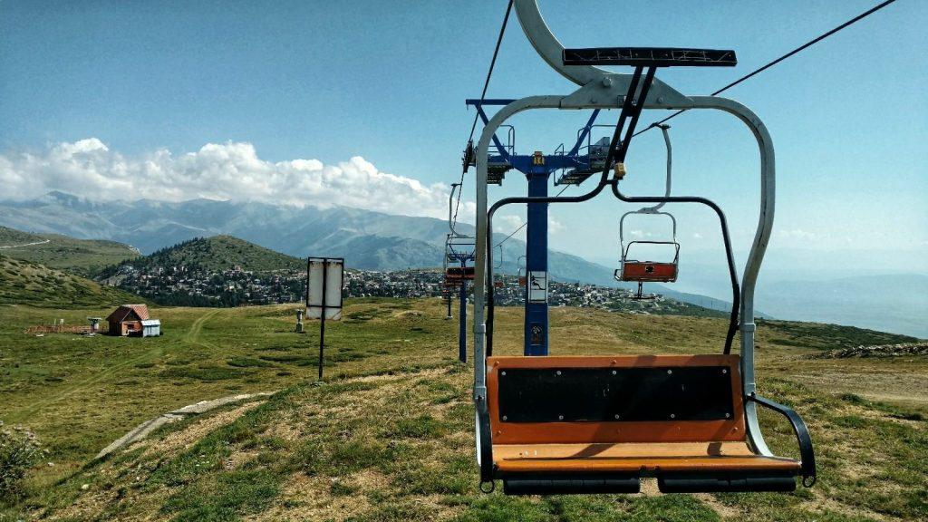 Popova Shapka Ski slope