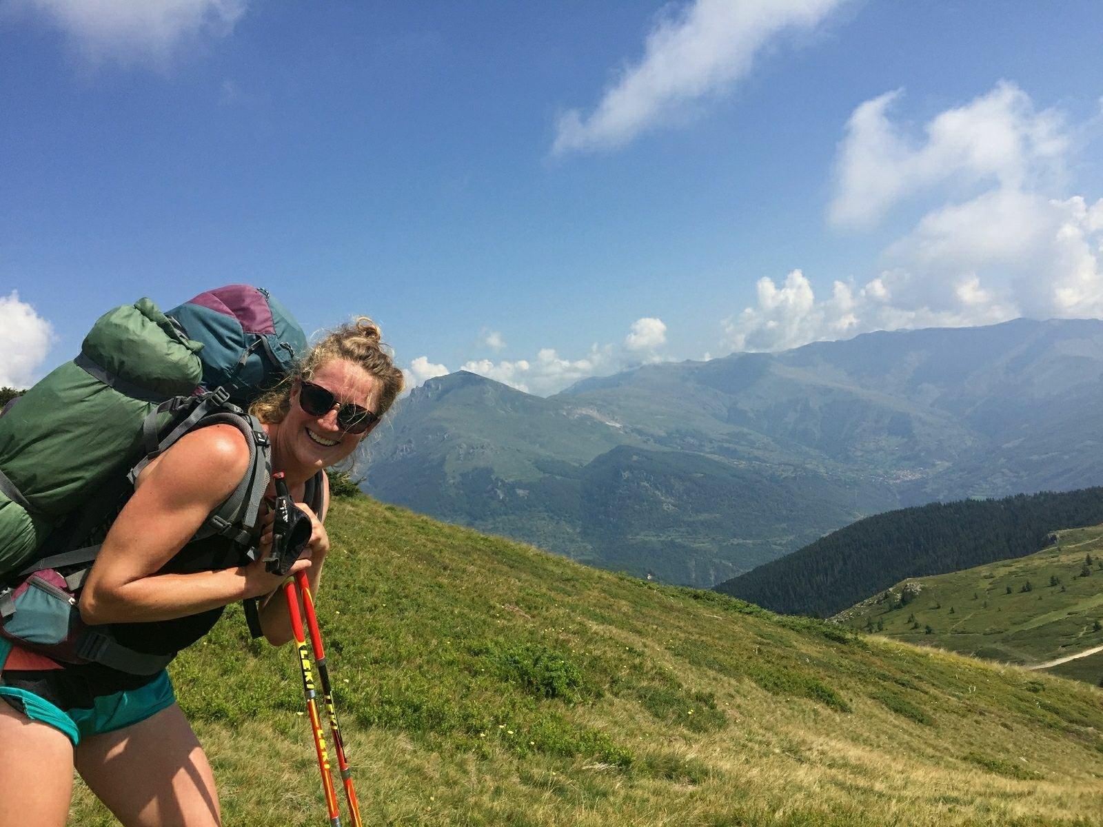 Hiking shar Mountain