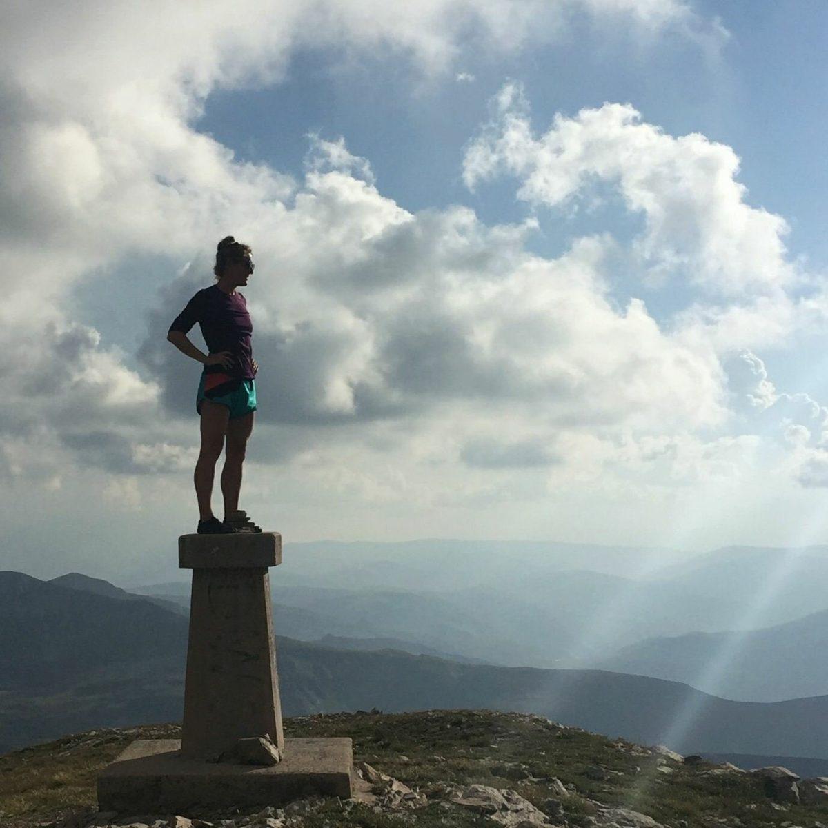 On top of Titov vrv | Sharr Mountain, North Macedonia