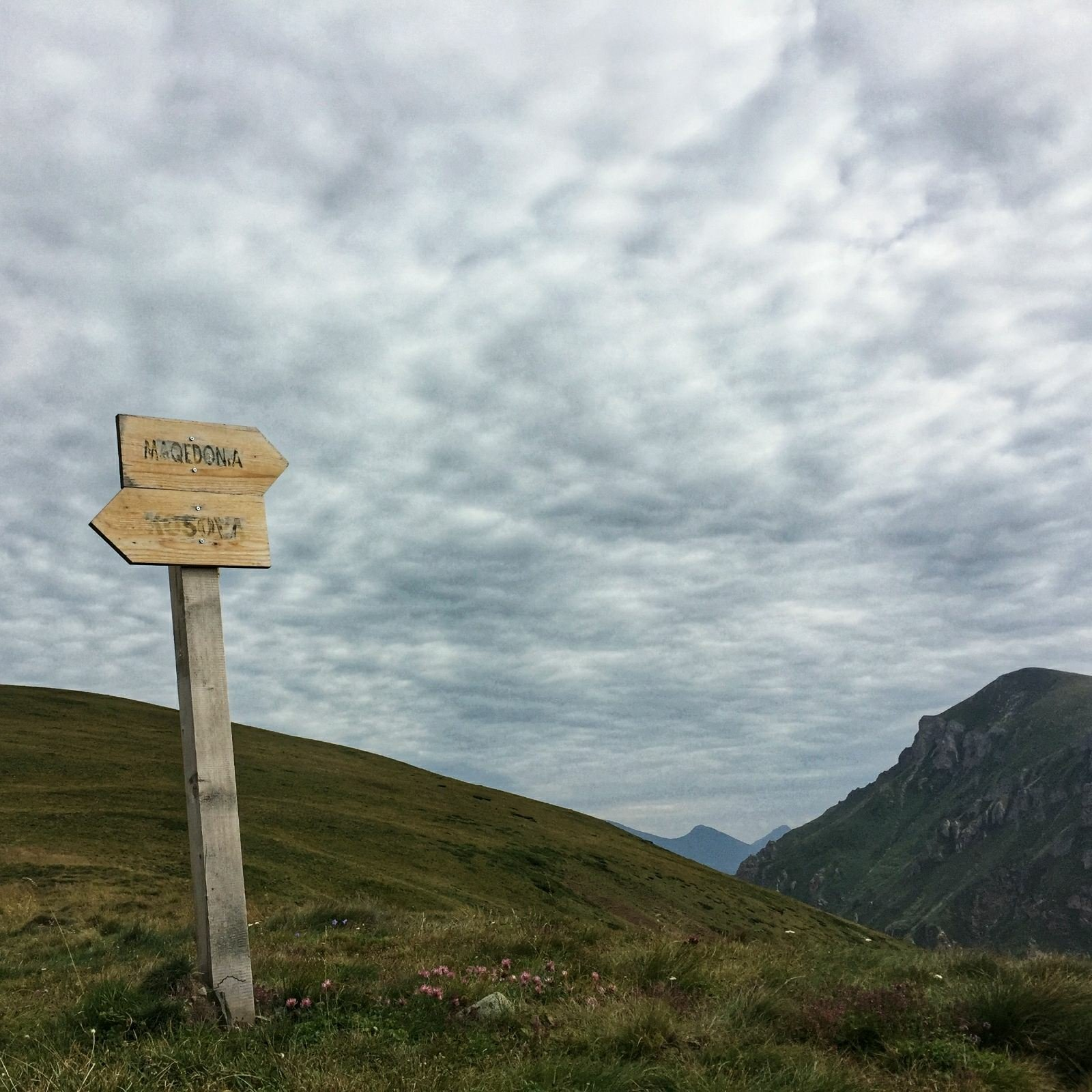 Cross border hike, Macedonia - Kosovo