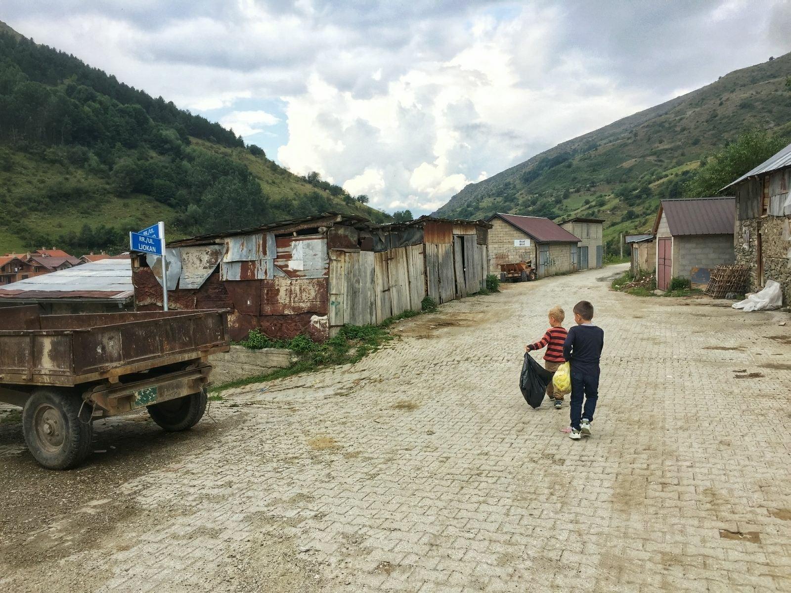 Garbage problem Kosovo