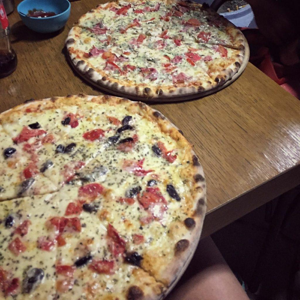 Pizza in Prizren