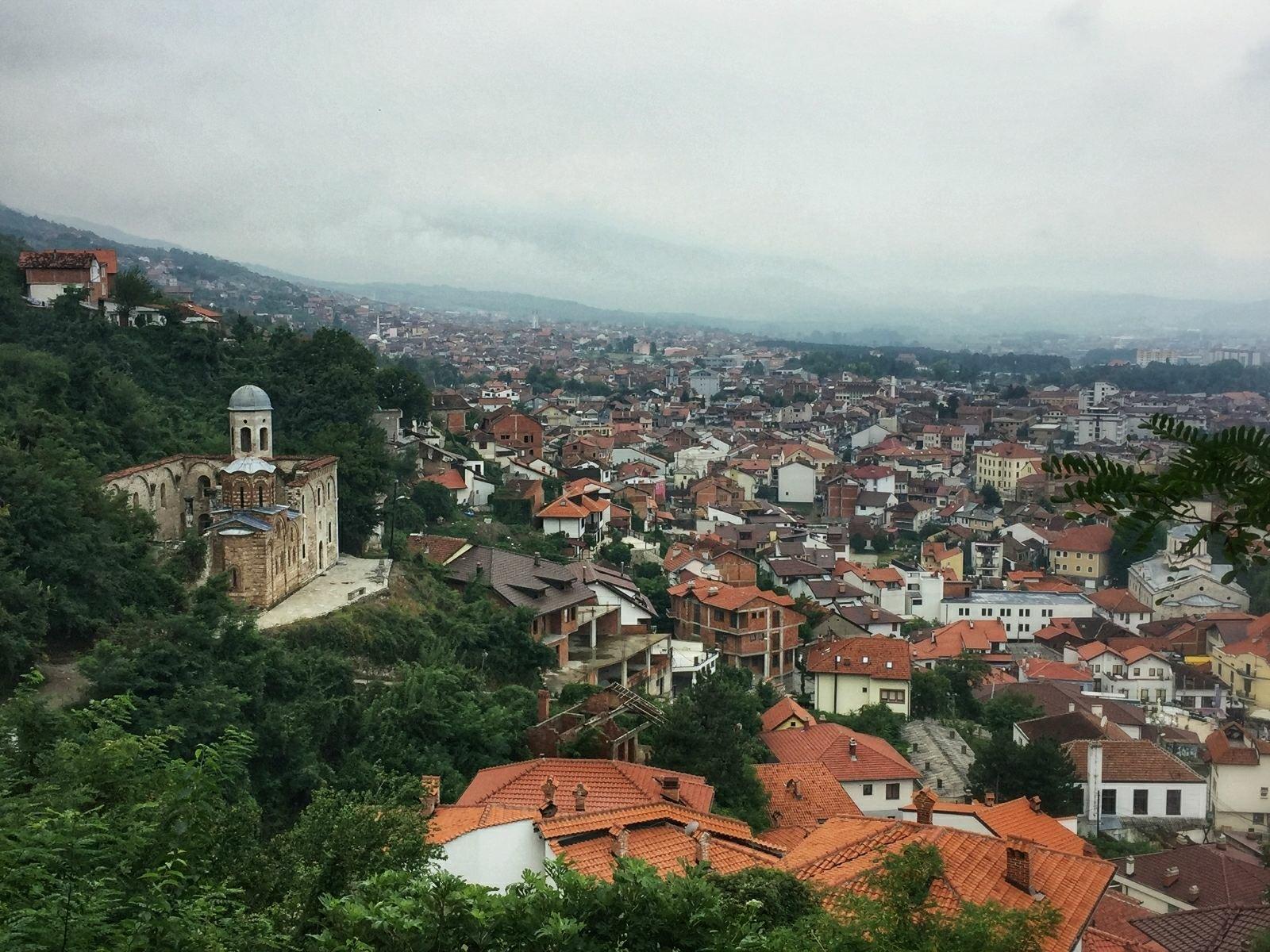 Sightseeing Prizren | Fortress view