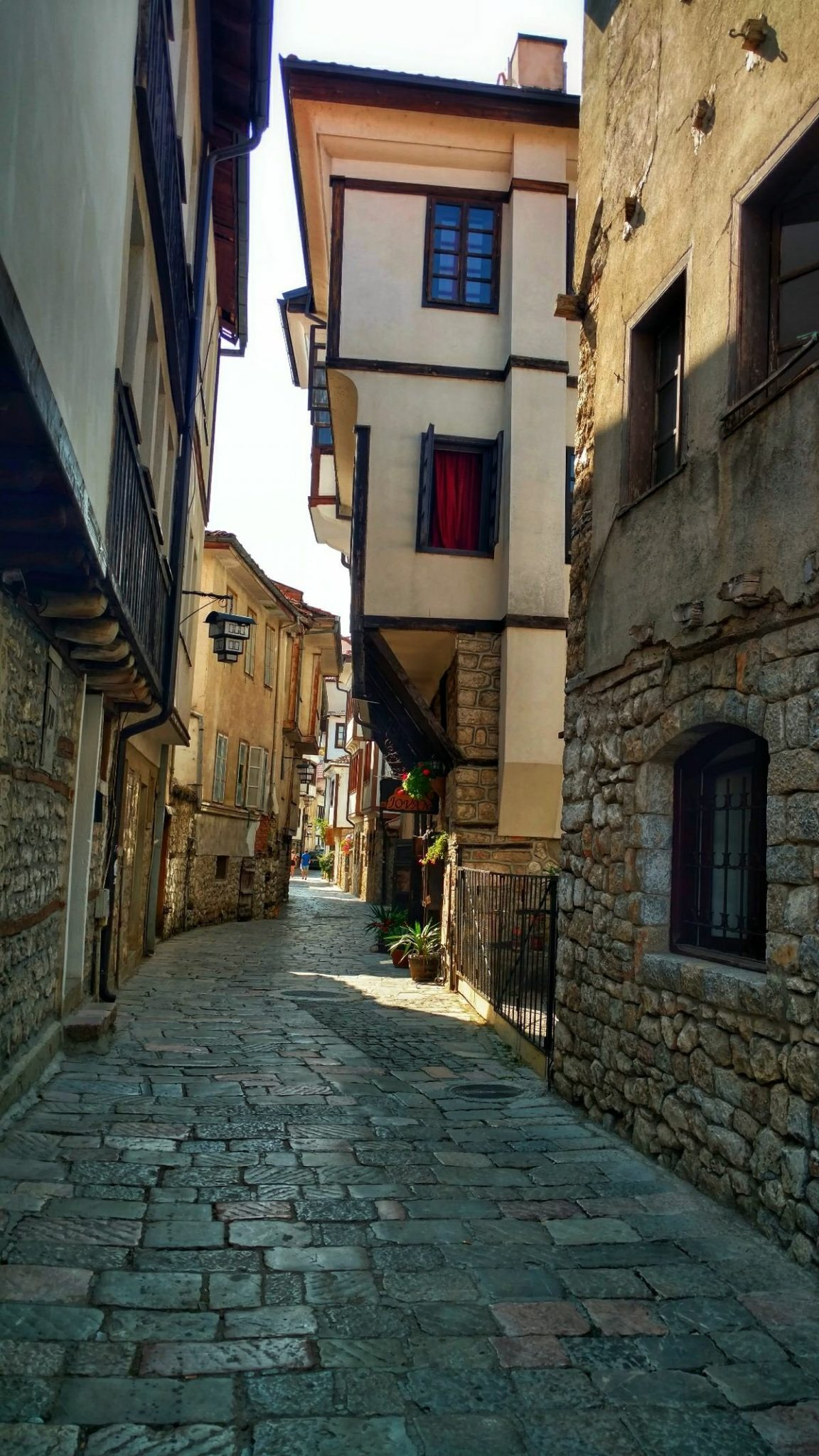 Sightseeing Ohrid | Old town street
