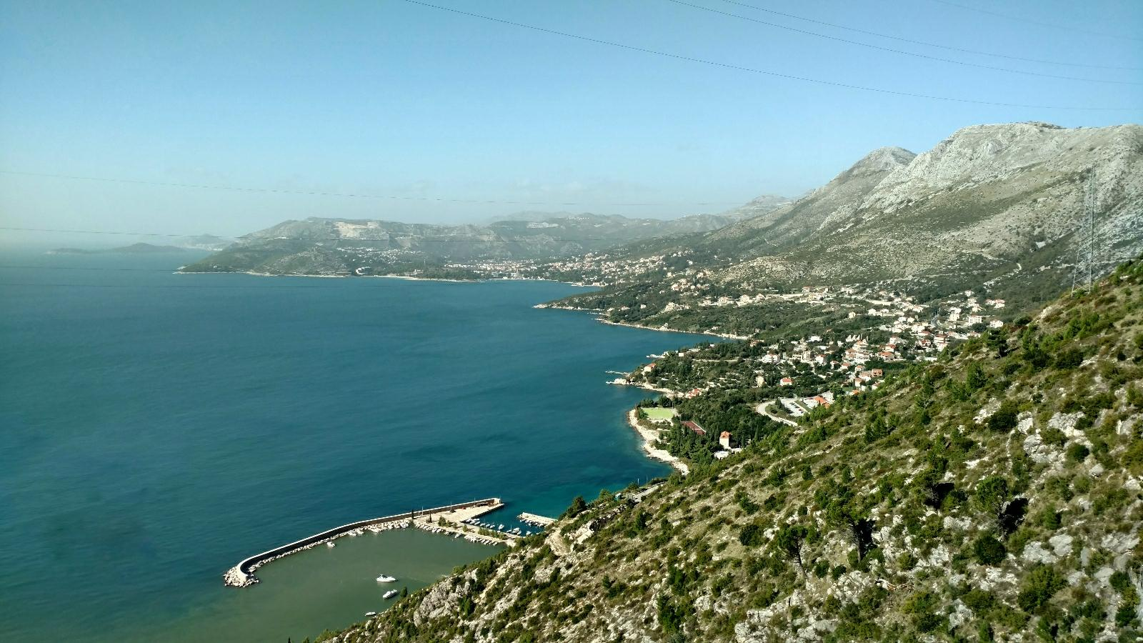 Just above Cavtat
